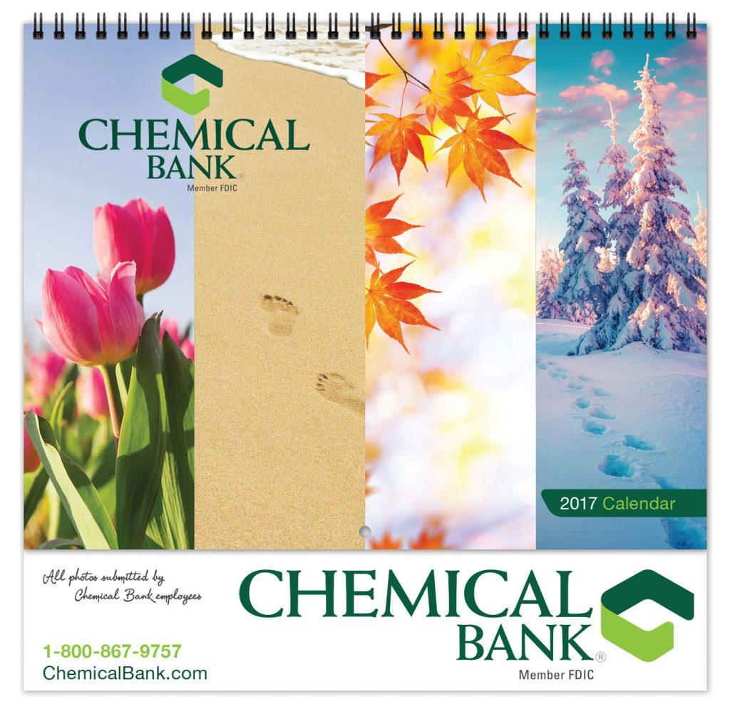 chemical bank custom calendar