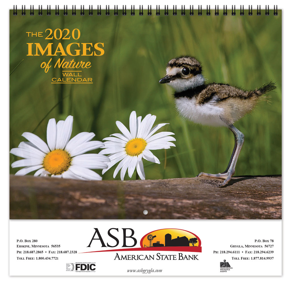 Michigan Calendar 2020 2020 Images of Nature Promotional Calendar | Farley Calendar Company